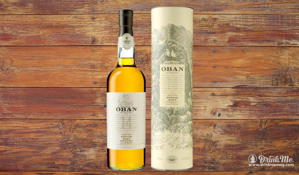 Oban Whiskey Drink Me
