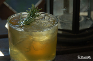 Rosemary Sour Drink Me