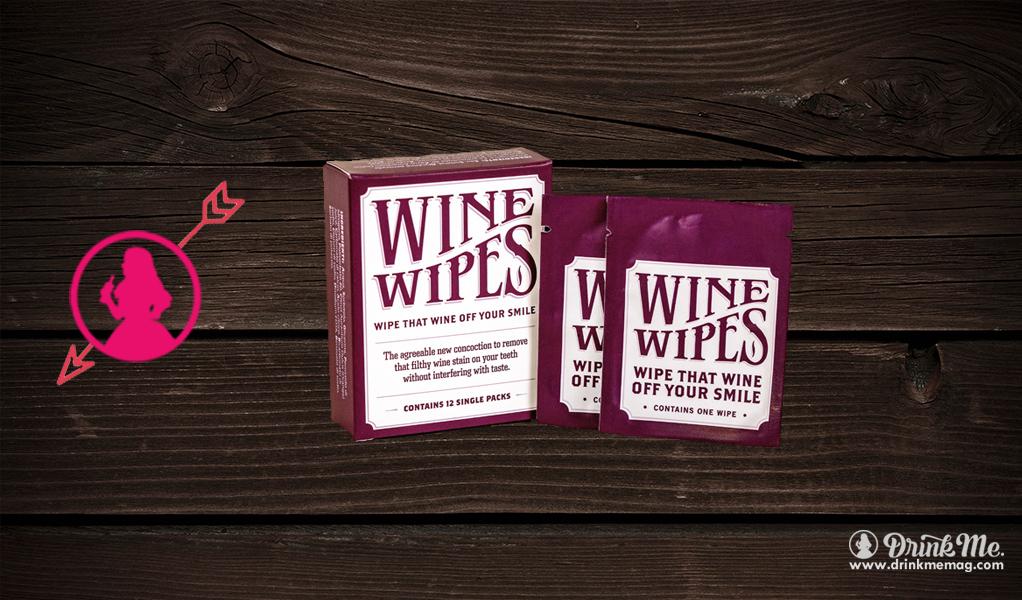 Wine Wipes Drink Me