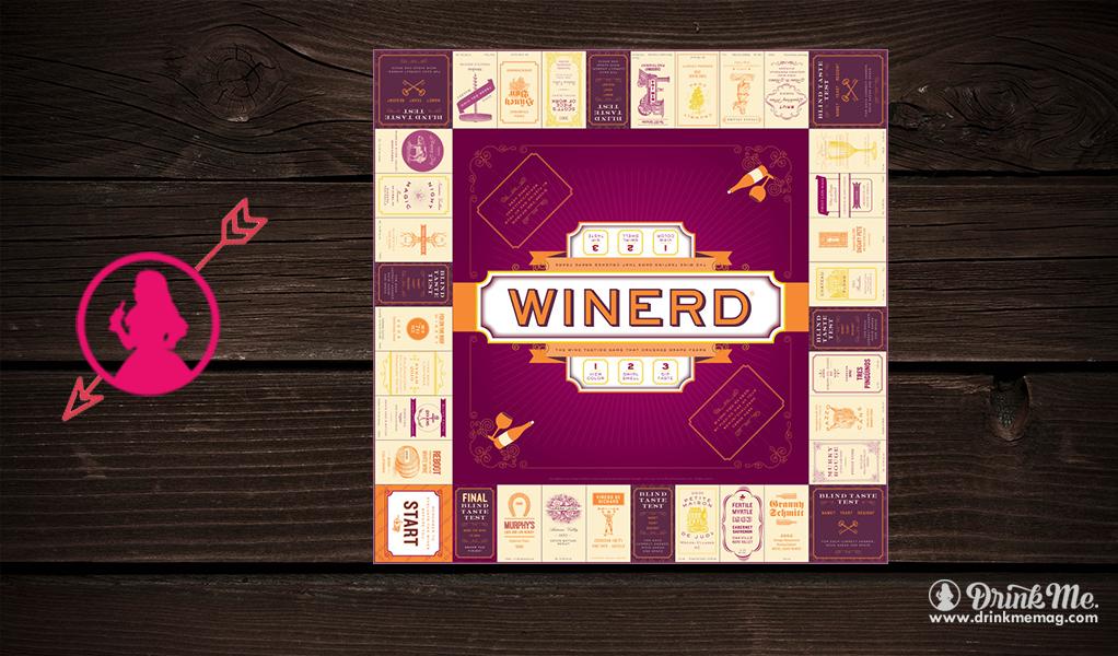 Winerd Board Game Drink Me