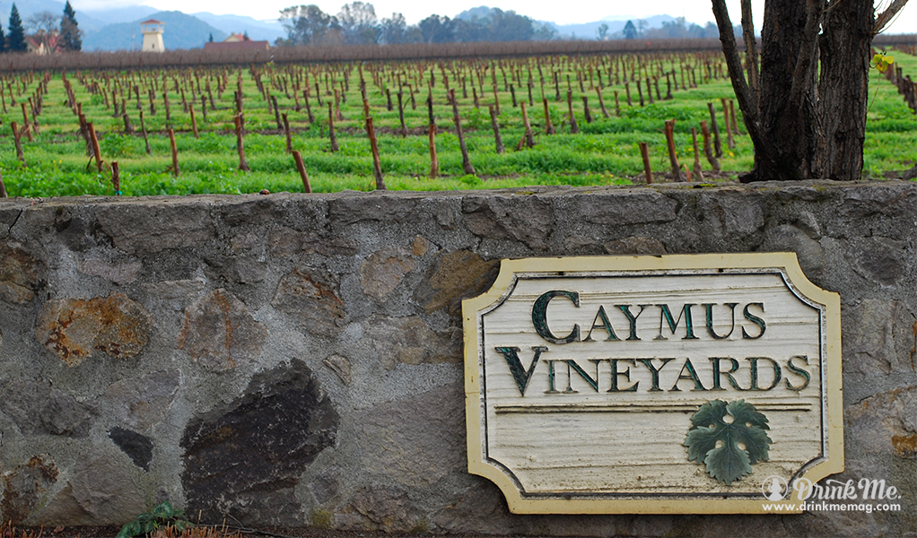 Caymus Vineyards Rutherford Wineries