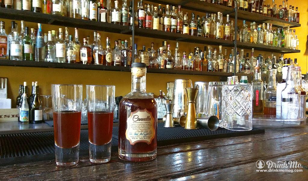 Canella Spirits at the bar