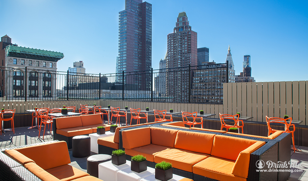 The 8 Best Rooftop Bars In Nyc Drink Me