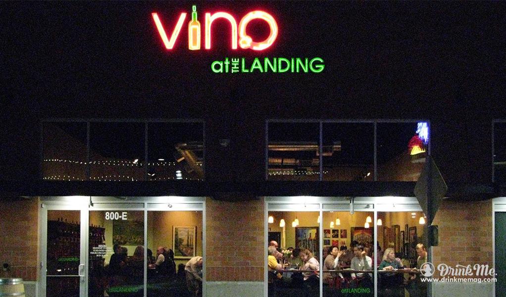 Vino at the landing