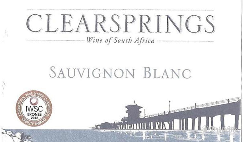 Clear Springs Sauvignon Blanc Drink Me